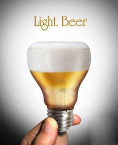 Je libo light beer ? Anebo oboji ? Now there's an idea! (see what I did there?)
