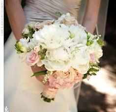 Ballet pink rose bouquet