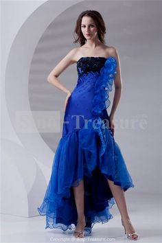 Nice royal blue and black dresses 2018