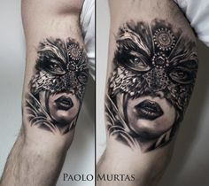 Another beautiful masked lady by Paolo Murtas.