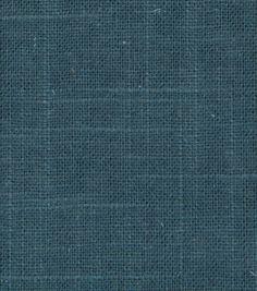 Upholstery Fabric-Robert Allen Linen Slub-TurquoiseUpholstery Fabric-Robert Allen Linen Slub-Turquoise,