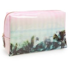 342c5758d7d843 Ted Baker London  Large  Palm Tree Print Cosmetics Bag available at
