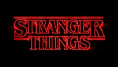 how the stranger things logo was created