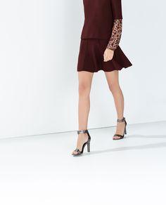Image 2 of PLEATED MINI SKIRT from Zara