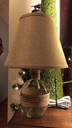 Blanton's Bourbon Bottle Lamp by McCartyCrafts on Etsy