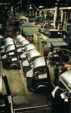 Citroen Factory or Blacksmith Shop? Citroen Van, Citroen Type H, Blacksmith Shop, Catering Van, Coffee Van, Automobile, Little Truck, Step Van, Le Tube