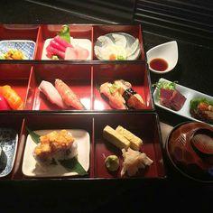 Our 1 year Anniversary/Christmas Special 3 Tiers dinner ($48) comes with 3rd : Uni / Sashimi / Usuzukuri 2nd : 6 kinds Nigiri 1st : 2 kinds Roll (2pc each) / Sweet Egg With Miso soup & Otsumami Set.  The 1 year anniversary/Christmas Special menu is now available  through 25th!! C #GokokuSushi #Hawaii #dinner #kaiseki #sushi #sashimi #kokomarinacenter  #HappyHolidays  #christmas #honolulu #hawaiisbestkitchens by gokokusushi
