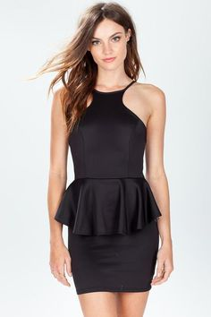 Perfect Party Peplum