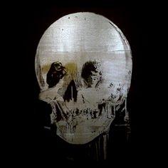 Sigmar Polke Skull. All time favorite artist.