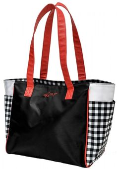 Check Mate Greg Norman Ladies 14-way Golf Cart Bag available at @lorisgolfshoppe