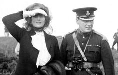 1910 - Churchill with Clementine
