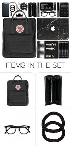 """what's in my bag: back to school"" by undercover-martyn ❤ liked on Polyvore featuring art, backpacks, contestentry and PVStyleInsiderContest"