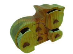 Gama SECRETOS madera pino gallego GATO 5 CAJONES