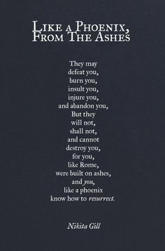 Strength Quotes : nikita gill poetry Google Search