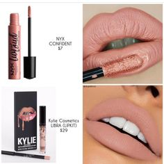 Lipstick dupes 419397784048494915 - ❗️D U P E P R O O F❗️ A perfect nude is always something to look forward to! We found a great alternative to Kylie Cosmetics LIBRA LIPKIT… Source by acrespocuellar Beauty Dupes, Beauty Makeup, Eye Makeup, Beauty Hacks, Hair Makeup, Hair Beauty, Skull Makeup, Clown Makeup, Kiss Makeup