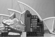Early model of Sydney Opera House | Jørn Utzon
