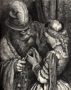 Barbebleue - Gustave Doré