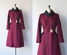 Silent Sentinel coat • 1930s princess coat • vintage 1940s coat