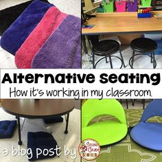 Ideas for flexible seating