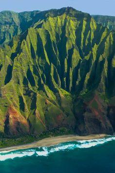 Na Pali Coast, Kauai, Hawaii, USA
