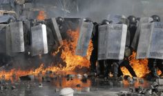 Violence Escalates As Kiev Protests Continue | Metro UK