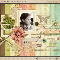 Discover fresh, modern products and page ideas for scrapbooking your family's heritage and history.