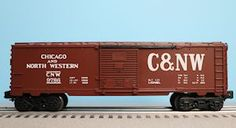 Lionel 6-9786 Chicago and North Western 9700 Series Boxcar