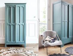 Où trouver des armoires parisiennes ? // Hëllø Blogzine blog deco & lifestyle www.hello-hello.fr Art Furniture, Tall Cabinet Storage, Kids Room, Sweet Home, Hello Fr, Blog Deco, Wood, Lifestyle, Design