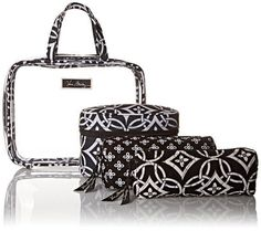 Vera Bradley 4pc. Cosmetic Organizer in Concerto, Travel Set, PACKAGED #VeraBradley #CosmeticBags