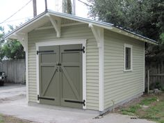 Bungalow Style Gable Shed by Historic Shed