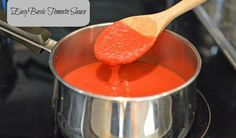 Basic Tomato Sauce.