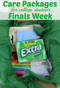 It's that time of year! Finals week is approaching fast. Wondering how you can support you college students during this stressful time? Send them a care package! Follow our tips to create a care package that any college student will be super excited to receive. #GIVEEXTRAGETEXTRA, #Kroger #ad