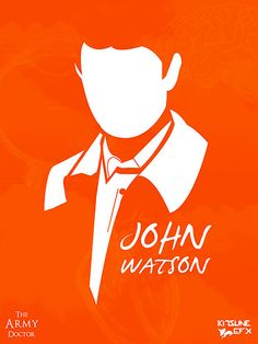 """John Watson: The Army Doctor"" Art Print by user 'KitsuneDesigns' on RedBubble.Com ... #Sherlock #BBC"