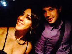 Bruno y Chiara listos para el #LifWeek