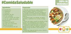 Cuando se tiene diabetes mellitus tipo 2 se recomienda reducir los carbohidratos, es por esto que te damos una receta de sopa de verduras diferente para que disfrutes comer este delicioso platillo cuando gustes.