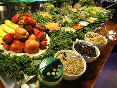 Fresh salad bar at Mizuki Buffet in Seattle Southside!