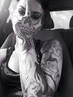 3d Tattoo For Girls-17