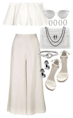 Untitled #20097 by florencia95 on Polyvore featuring polyvore, moda, style, Rosetta Getty, Topshop, Acne Studios, Forever 21, Chicnova Fashion, Bulgari, Stuart Weitzman, fashion and clothing