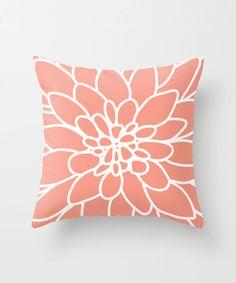 Dahlia Pillow.