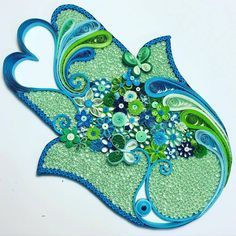 Квиллинг цветочки Hae Kyoung Kim: sees_all_colors Quilling Patterns, Quilling Designs, Paper Quilling, Quilling Ideas, Yin Yang, Paper Art, Paper Crafts, Hand Of Fatima, Jewish Art