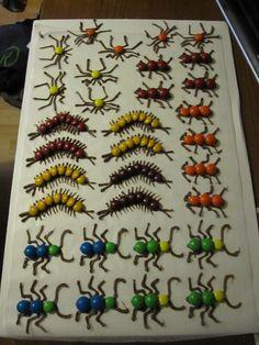 Creepy Crawler chocolate bugs