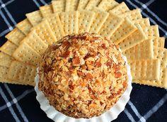almond cheese ball