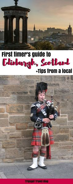 The ultimate guide to Edinburgh, history of Edinburgh, Scotland, tips from a local. Travel in Europe.