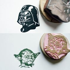 Fancy - Star Wars Stamps