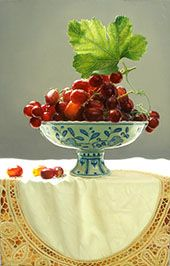 Yingzhao Liu, Artist, Still life artist, Figurative artist, Floral artist, Chinese Realism, Waterhouse Gallery