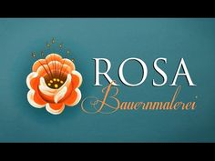 Bauernmalerei - Rosa 3 - YouTube