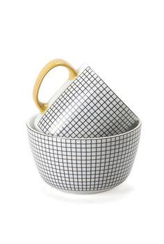 Bistro Tile Mug
