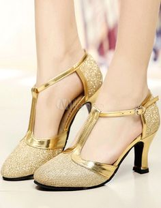 Other 2019 New Womens Fashion Rumba Waltz Prom Ballroom Latin Salsa Dance Sexy High Heels Shoes Sandals Ladies Zapatos De Baile 15