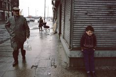 Raymond Depardon: Glasgow, 1980.