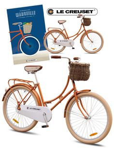 Custom Republic Bike made for Le Creuset.